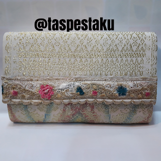 Tas Pesta SOngket Clutch Bag Handmade