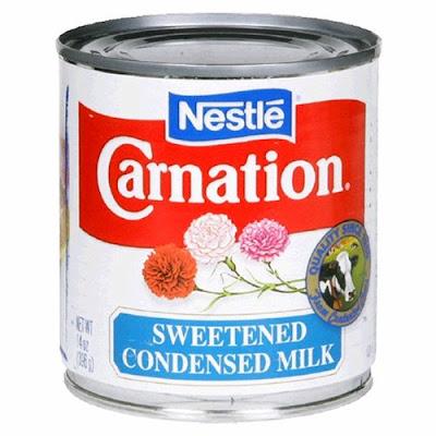 Contoh Sweetened Condensed Milk