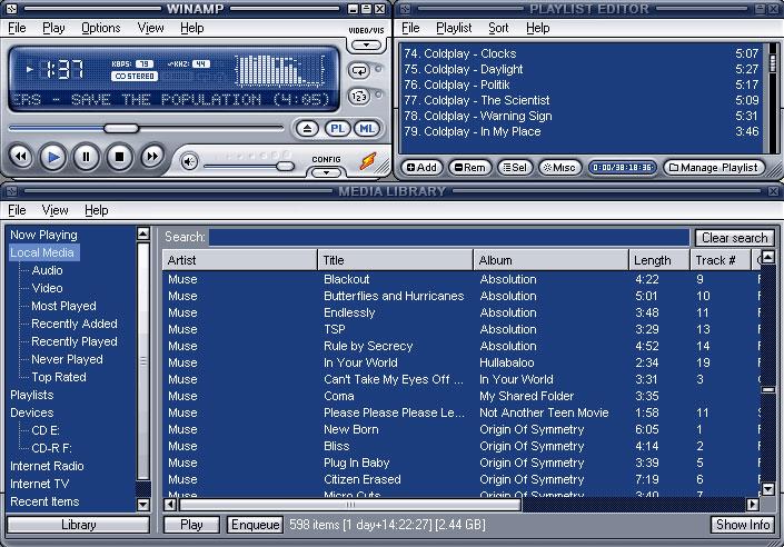 Software Karaoke Winamp