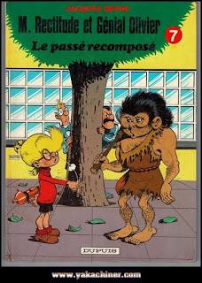 Jacques Devos, M.rectitude et génial Olivier, la passé recomposé, tome 7, 1985