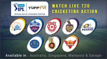 Watch Indian TV Channels Using Yupptv: Watch VIVO IPL Live