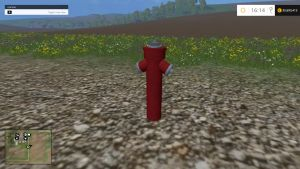 Placeable Hydrant with water trigger