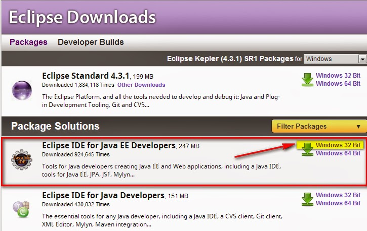 Selenium-By-Arun: 8  Install Eclipse IDE