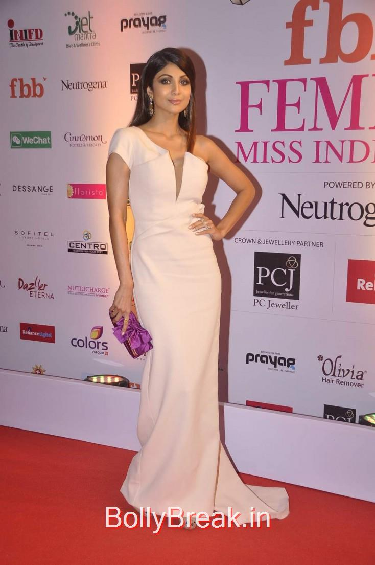Shilpa Shetty, Femina Miss India 2015 Red Carpet Photo Gallery
