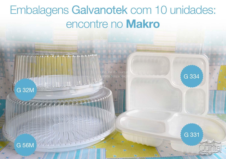 Encontre as embalagens da Galvanotek fracionadas no Makro! Aqui na Cozinha do Quintal você fica por dentro do foodservice!