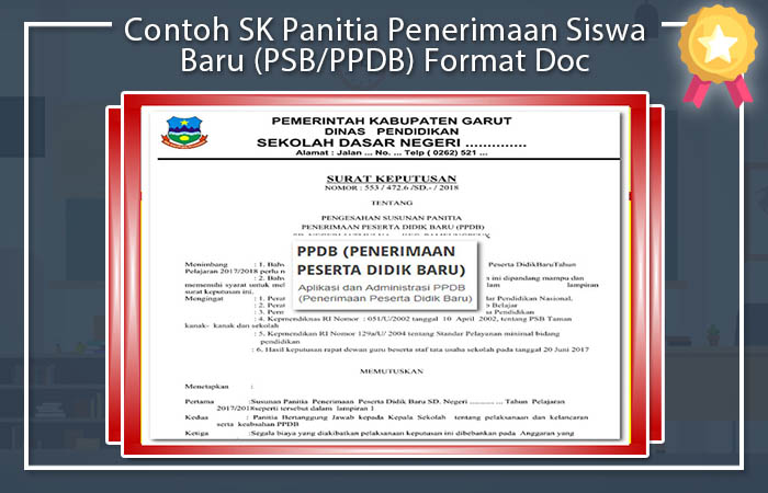 SK Panitia PPDB
