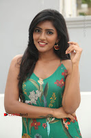 Actress Eesha Latest Pos in Green Floral Jumpsuit at Darshakudu Movie Teaser Launch .COM 0062.JPG