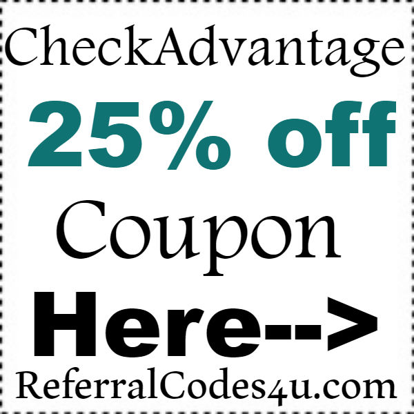 CheckAdvantage Promo Codes 2016-2017, Check Advantage Free Shipping Coupon October, November, December