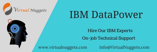 IBM DataPower Job Support