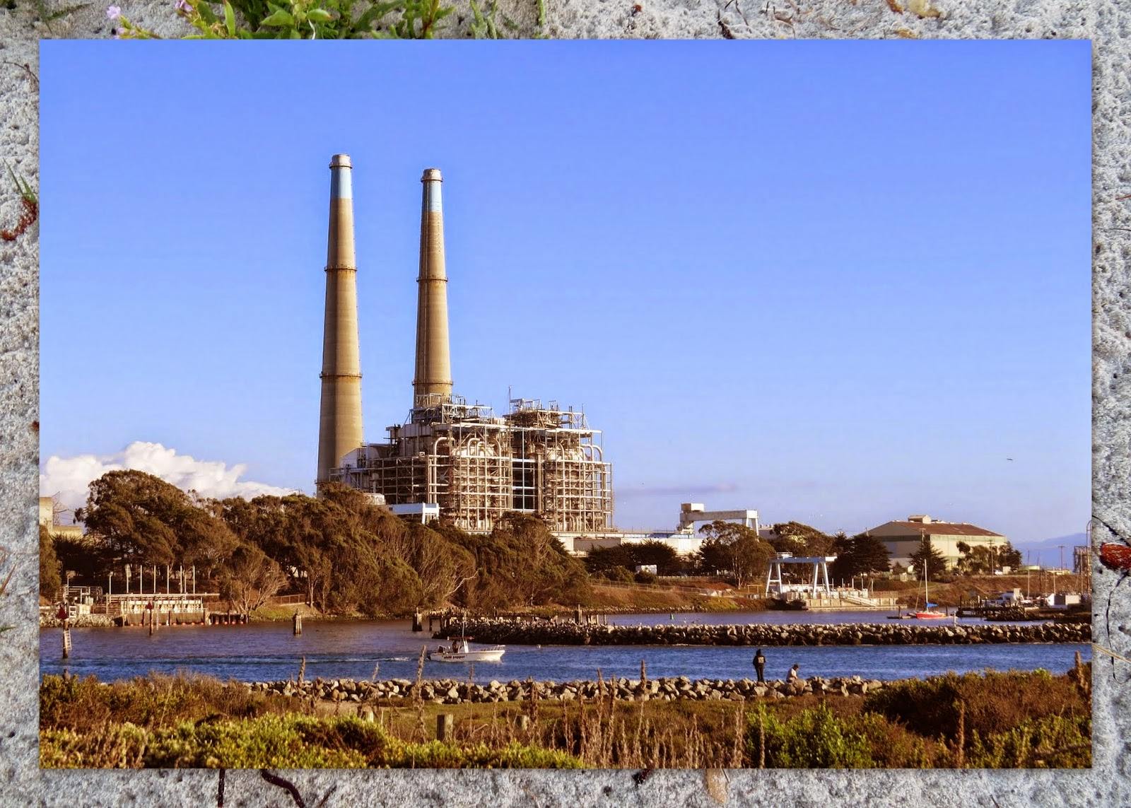 Power Plant at Moss Landing