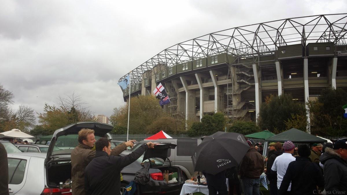Rugby at Twickenham - All Blacks vs England