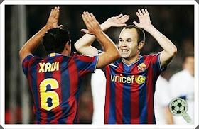 Xavi Iniesta Barcelona
