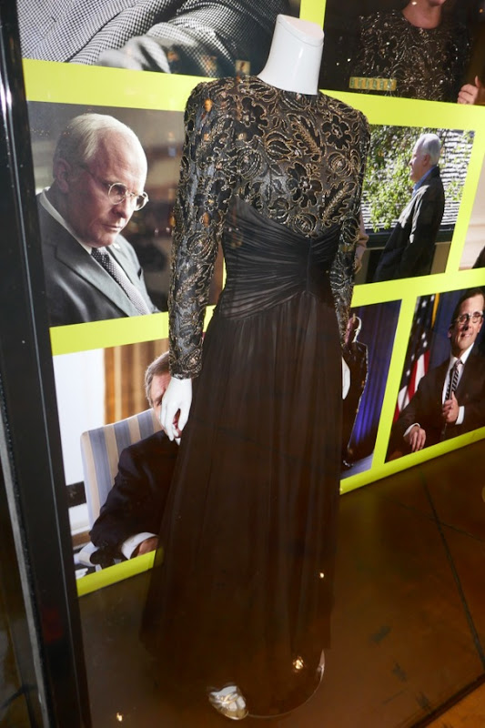Amy Adams Vice Lynne Cheney gown