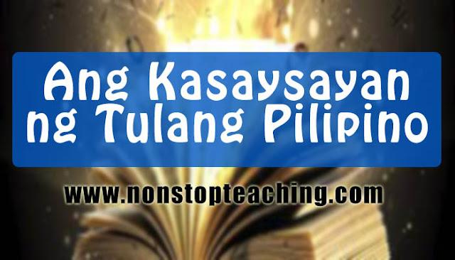 Ang Kasaysayan ng Tulang Pilipino