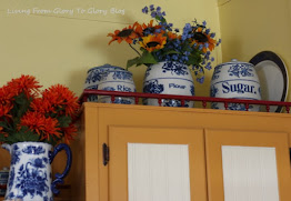 My Grand Mothers Blue And White Stoneware