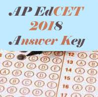 AP EdCET 2018 Key, AP BEd 2018 Key, AP EdCET Key 2018, AP BEd Key 2018
