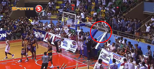 Tony Mitchell with the Backboard-Bending SLAM in Batangas (VIDEO)