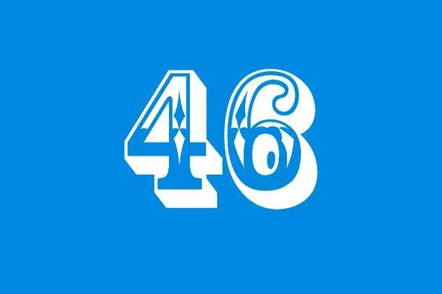 Nomer 46 Valentino Rossi