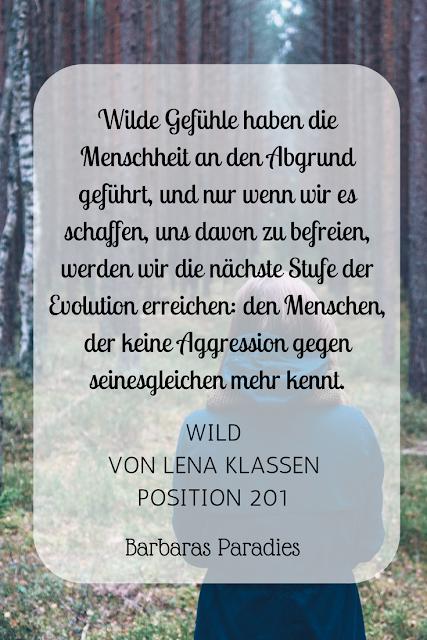 Buchrezension #124 Wild von Lena Klassen