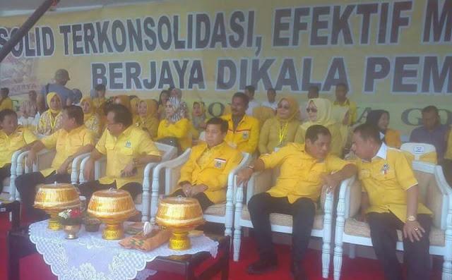 Setya Novanto Buka Musda Golkar Wajo, Seluruh Kader Diwajibkan Menangkan Pilkada