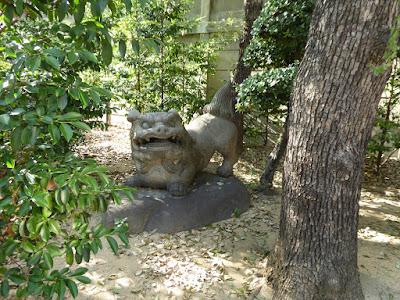 坐摩神社 狛犬