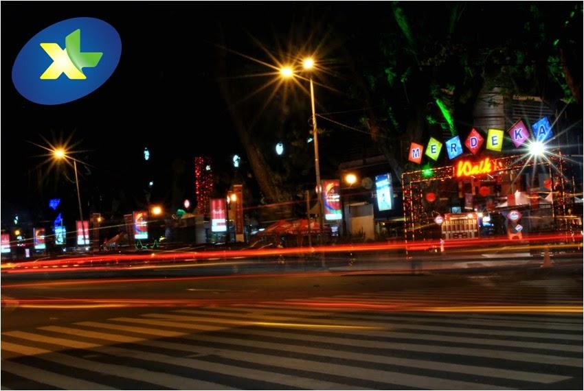 Rasakan Sensasi Nongkrong di Merdeka Walk Dengan XL 4G LTE