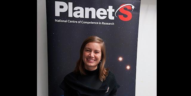 Dr. Julia Venturini, NCCR PlanetS. © NCCR PlanetS