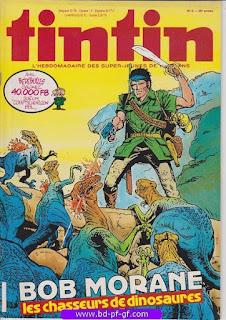 Tintin-numéro 6, année 38, 1983, Bob Morane