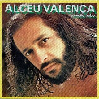 """Alceu Valença - capa do disco """"Coração Bobo"""", de 1980"""