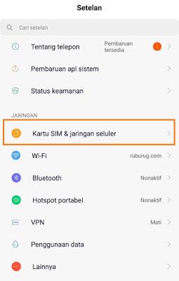 Cara setting APN Telkomsel Terbaru 1