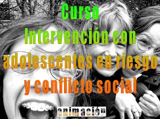 imagen curso adolescentes en riesgo y conflicto social