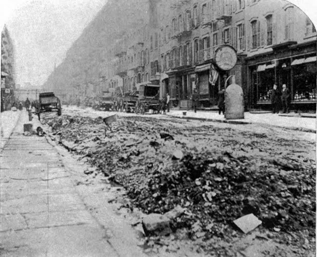 new york history geschichte the great horse manure crisis of 1894. Black Bedroom Furniture Sets. Home Design Ideas