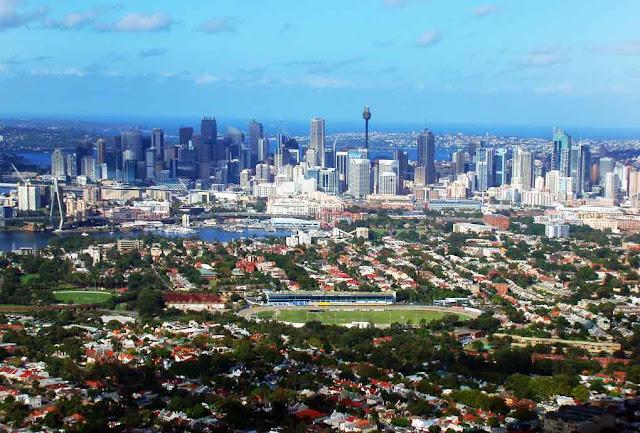 Panorâmica de Sydney - Austrália
