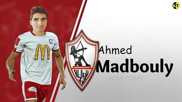 رسمياً أحمد مدبولي حاوي الزمالك  الجديد يوقع خمس سنوات