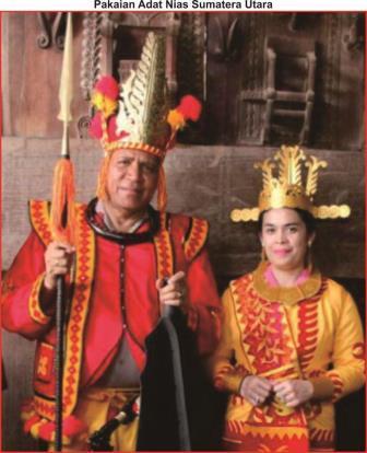 pakaian adat nias sumatera utara