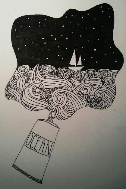 Doodle By Dflatmajor Doodling Art Art Journal Moleskine Art