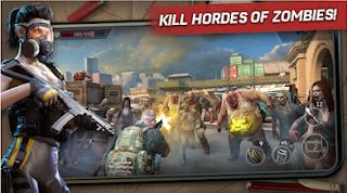 shoter yang mengajak kau untuk bertahan hidup dari kepungan para zombie Left to Survive LAST DAY ALIVE v1.0.0 MOD APK (Unlimited Ammo)