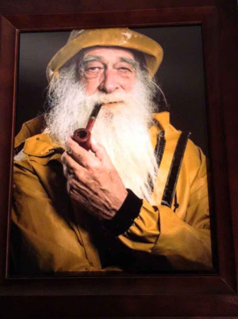 fisherman, portrait,smoking, pipe