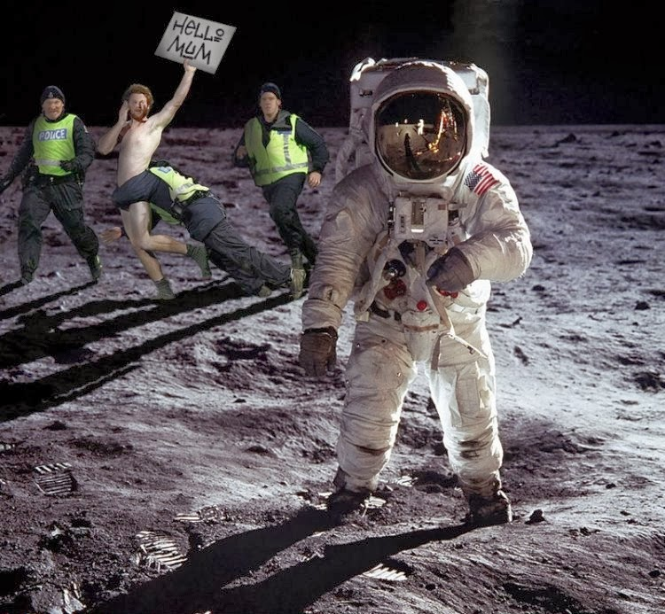 funny moon landing - photo #1