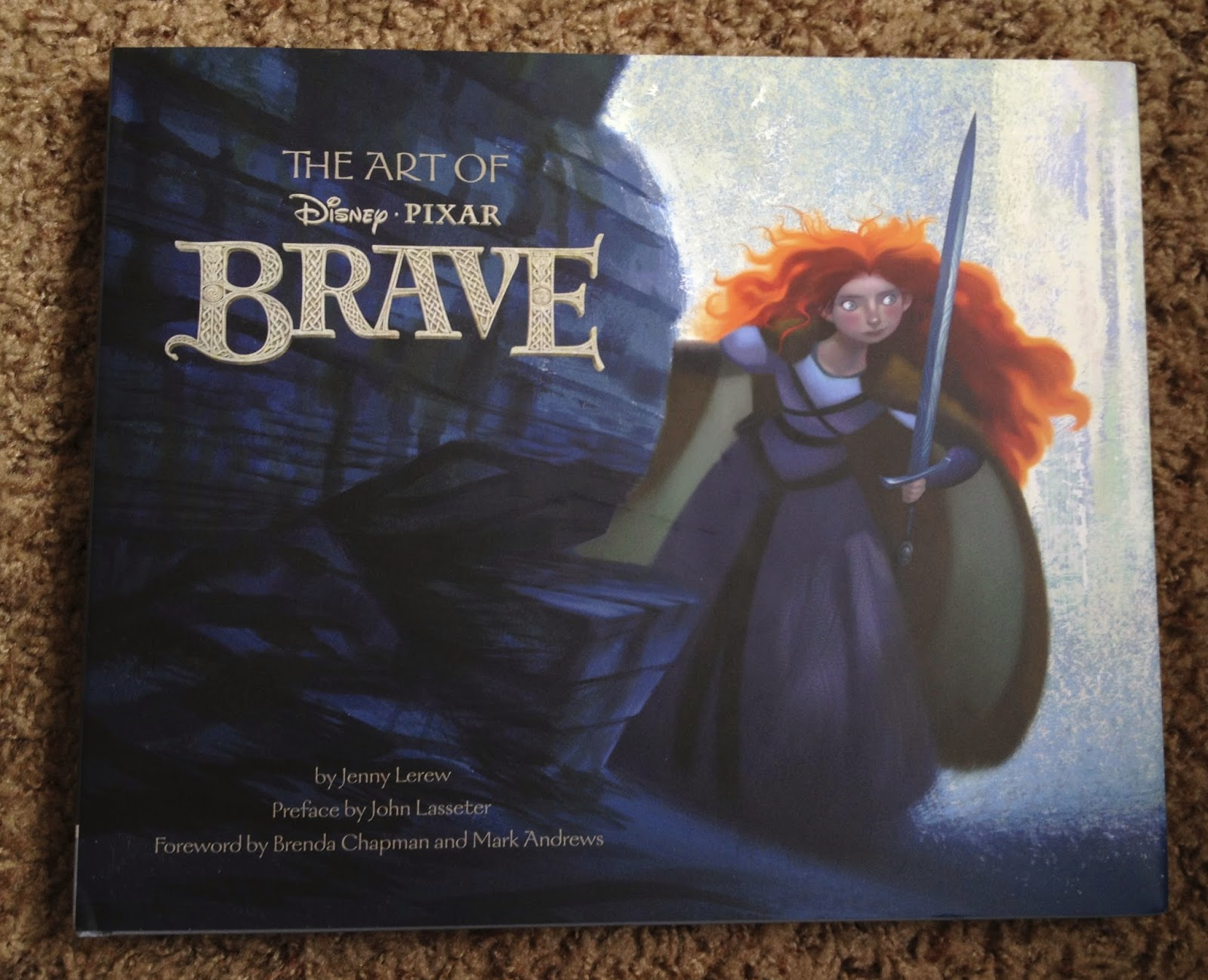 Dan The Pixar Fan Brave Art Of Book