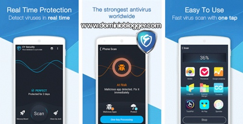 App CY Security Antivirus gratis para Android