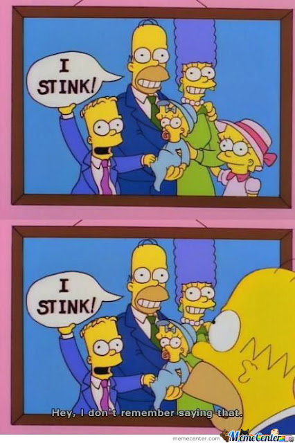 Funny Homer quote about a family photograph