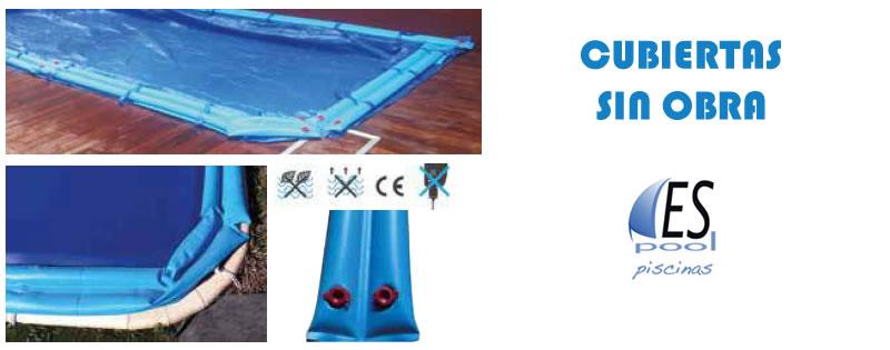 Cubiertas de invierno de piscinas, sin obra - Espool Piscinas.