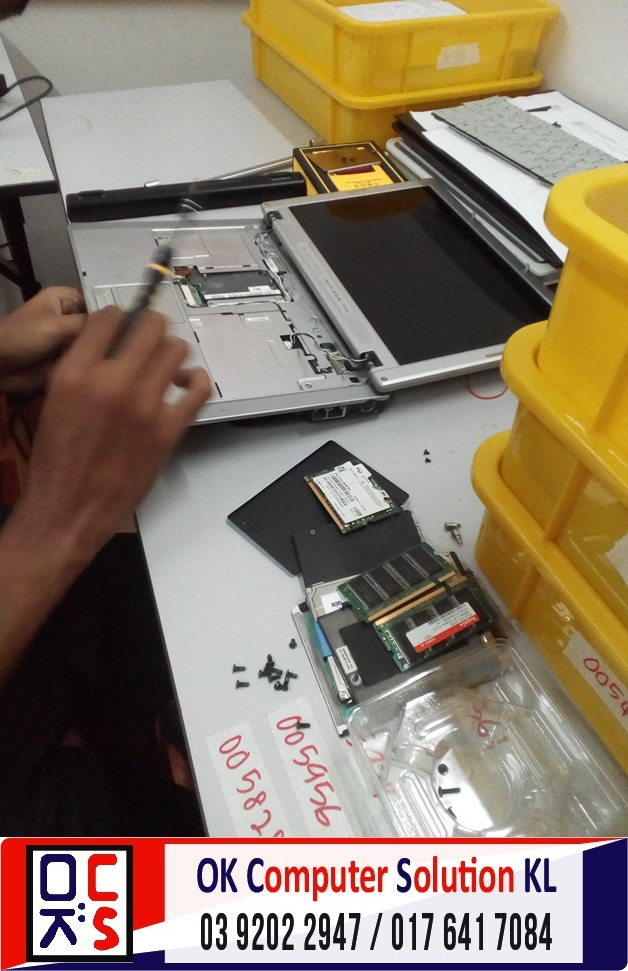 [SOLVED] HARD DISK ROSAK DELL INSPIRON | REPAIR LAPTOP CHERAS 4
