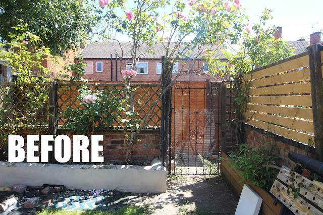 garden gate before