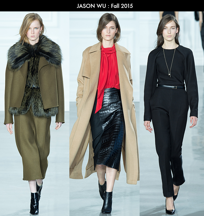 NYFW, Fall 2015, Jason Wu