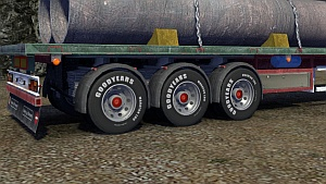 Goodyear wheels for trailers