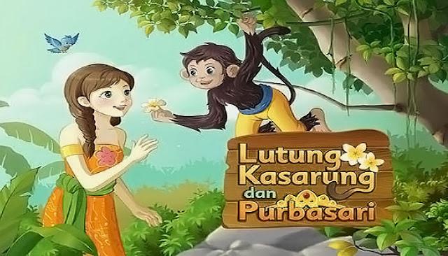 cerita legenda rakyat lutung kasarung dan putri purbasari yang baik hati