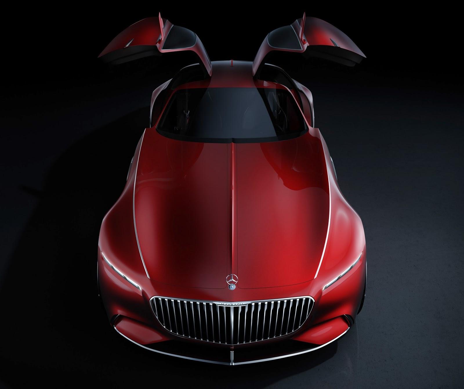 Vision Mercedes-Maybach 6: Um Cupê Descomunal