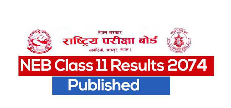NEB Class 11 Management, Humanities and Education Result 2074